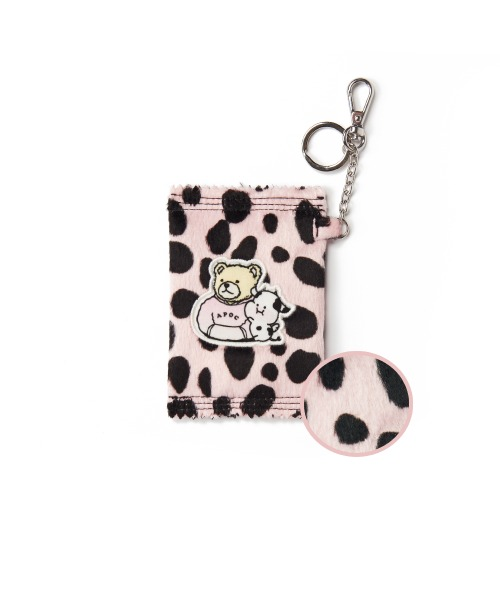Cow Pattern Mini Wallet_Pink